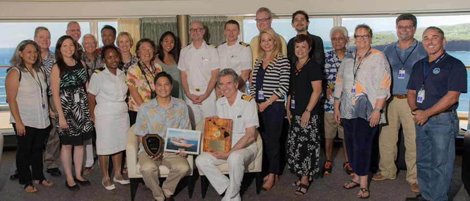 Seabourn Calls on Lanai